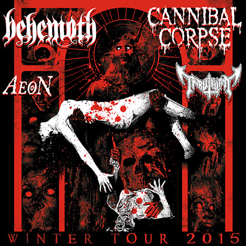 Cannibal-Behemoth US Tour