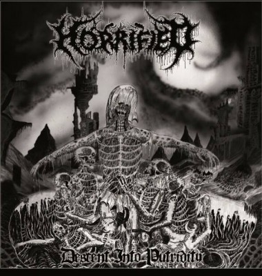 Horrified - Descent Into Putridity album cover