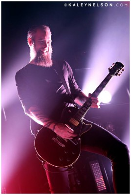 Bjorn Gelotte of In Flames. Photo By Kaley Nelson