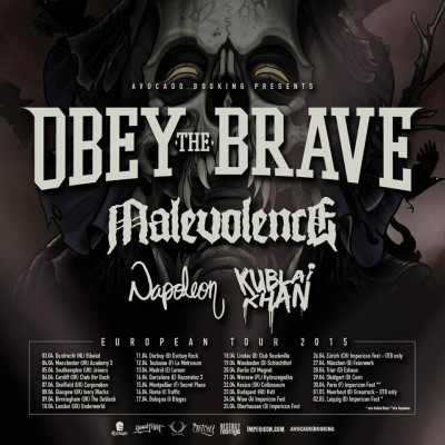 obey the brave euro tour