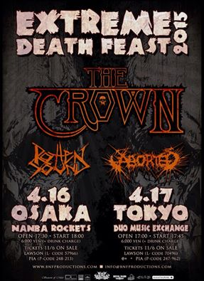 the crown japan tour