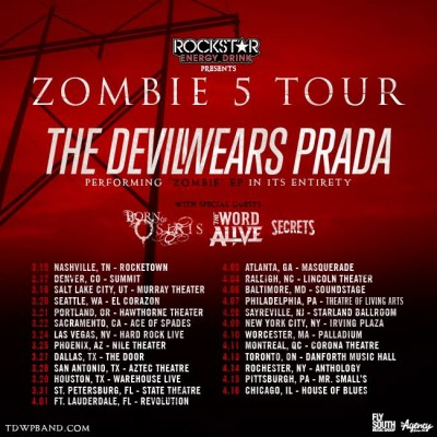 the devil wears prada zombie 5 tour