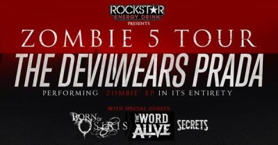zombie 5 tour the devil wears prada