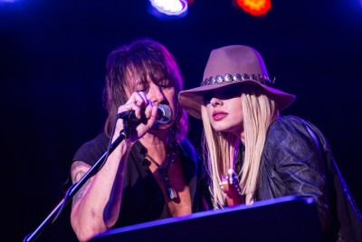 Richie Sambora and Orianthi. Photo credit: Tiffany Rose.