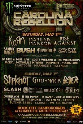 carolina rebellion 2015 7huu_2015ANNOUNCEADMAT