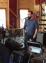 Neil Fallon of Clutch In The Studio.
