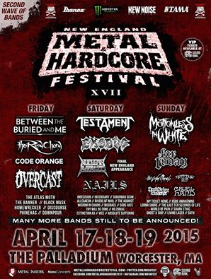 new england metal and hardcore fest 2nd wave 2015