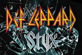 def leppard styx tour