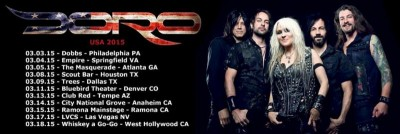 doro usa tour 2015