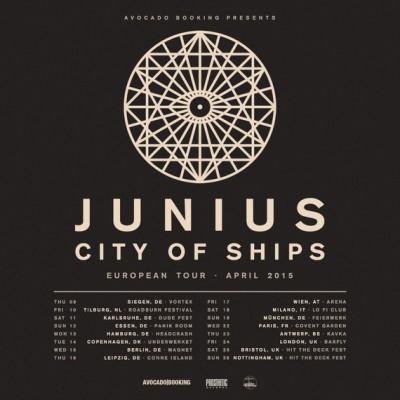 junius tour poster
