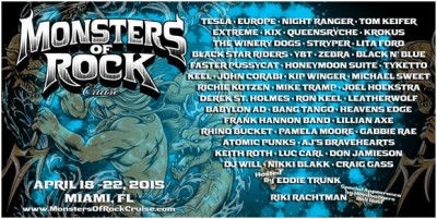 monster of rock cruise 2015