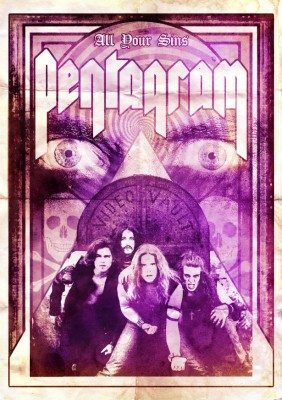 pentagram all your sins dvd