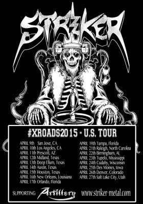striker xroads2015 us tour