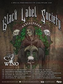 black label scoiety wino tour