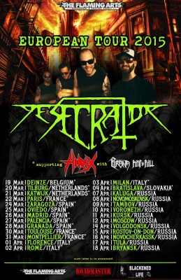 desecrator european tour 2015