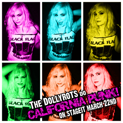 dollyrots Stageit-March