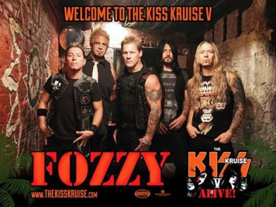 fozzy on kiss kruise v