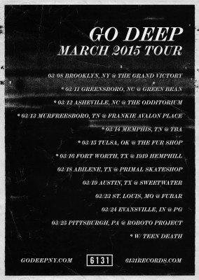 go deep march 2015 tour