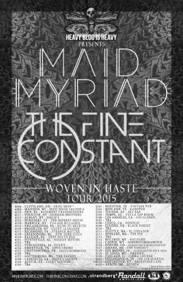 maid myriad tour poster