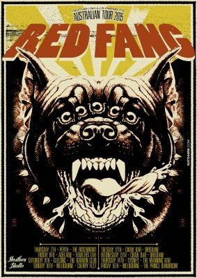 red fang australian tour 2015