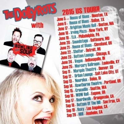 the dollyrots bowling for soup tour dates