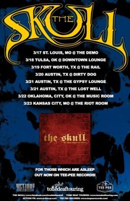 the skull tour 2015