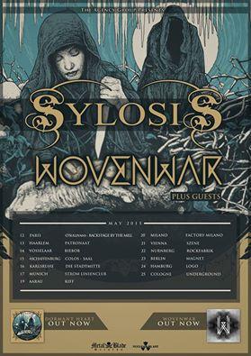 wovenwar sylosis euro tour