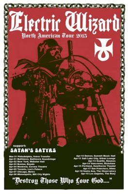 Electric Wizard US tour poster