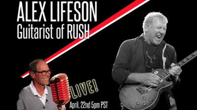 alex lifeson on renman live
