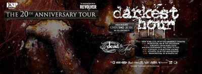 darkest hour 20th anniversary tour