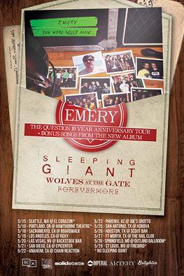 emery 10th anniversary tour