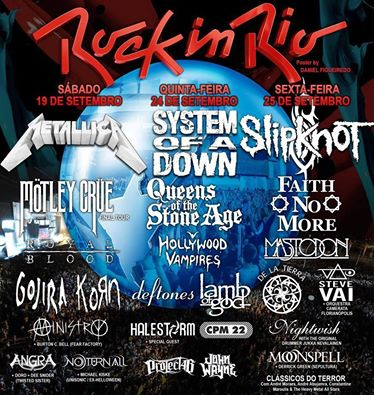 rock in rio poster