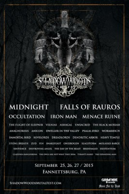 shadows woods metal fest