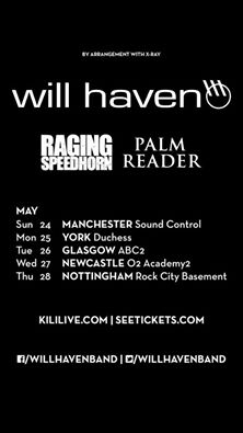 will haven raging speedhorn tour