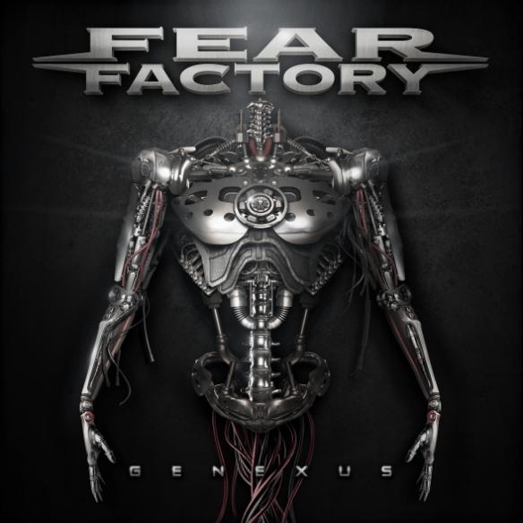 Fear Factory Genexus album cover 2015
