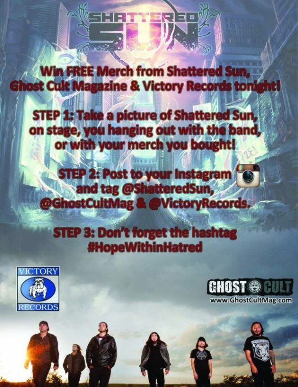 Shattered Sun flyer Ghost Cult contest