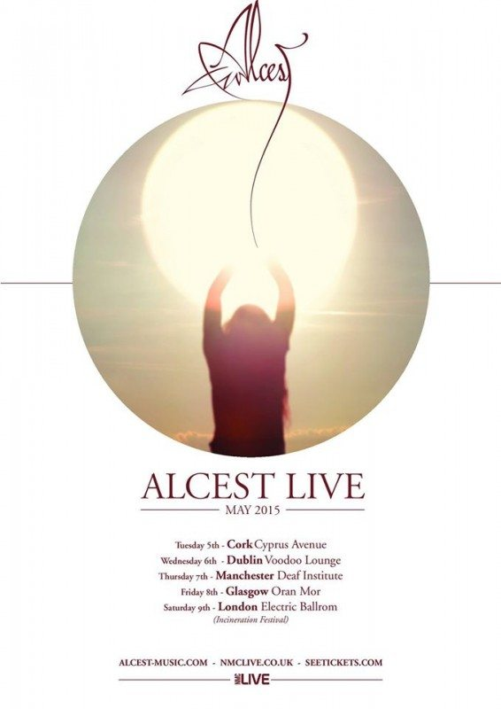 alcest live in Europe spring 2015