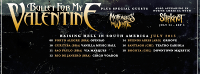 bullet for my valentine tour