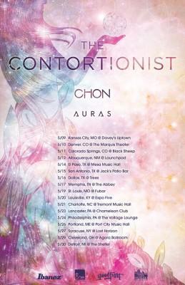 contortionist chon auras tour