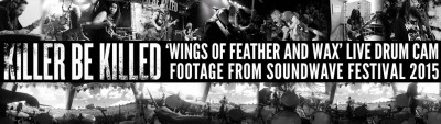 killer be killed wings of feather drum cam