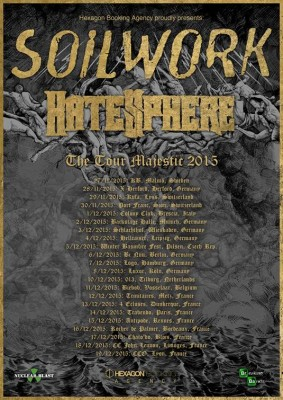 soilwork hatesphere euro tour