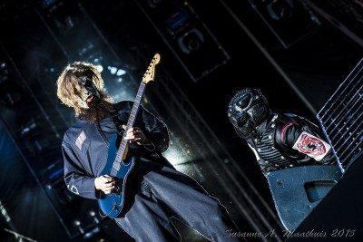 Slipknot,  photo by Susanne A. Maathuis