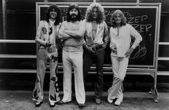 Led Zeppelin, photo by Outside Organization