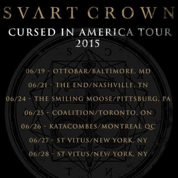 svart crown cursed in america