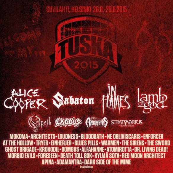 tuska festival 2015 poster