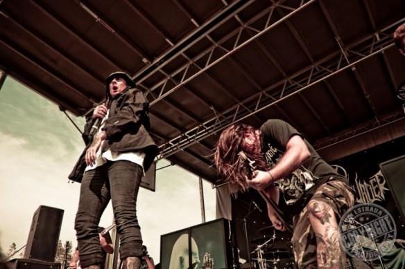 Thy Art Is Murder, photo©Kevin Estrada / kevinestrada.com