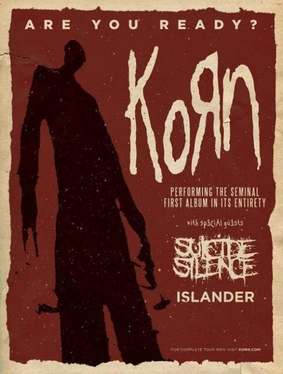 Korn 20th anniversary tour