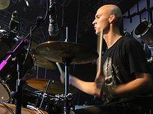 Vittek, the original Decapitated drummer.