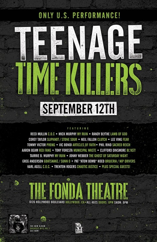 Teenage Time Killers concert