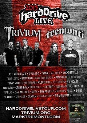 Trivium Tremonti Tour Poster
